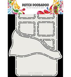 Dutch Doobadoo Cart Art Chocolat -sapluuna