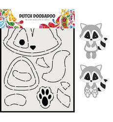Dutch Doobadoo Raccoon -sapluuna