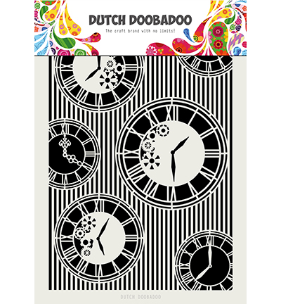 Dutch Doobadoo Clocks -sapluuna