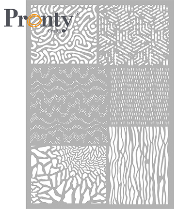 Pronty sapluuna Pattern Background 5, A4