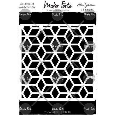 Maker Forte sapluuna Stepped Cubes