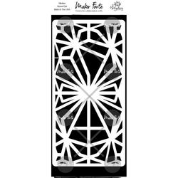 Maker Forte sapluuna Geometric Tangles Slimline