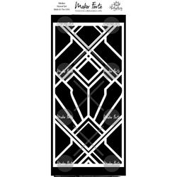 Maker Forte sapluuna Angled Art Deco Slimline