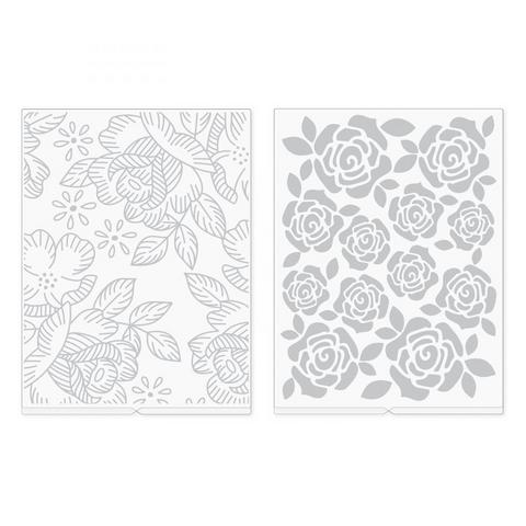 We R Memory Keepers kohokuviointikansiot Florals, 2 kpl