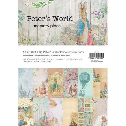 Memory Place paperipakkaus Peter's World, A4