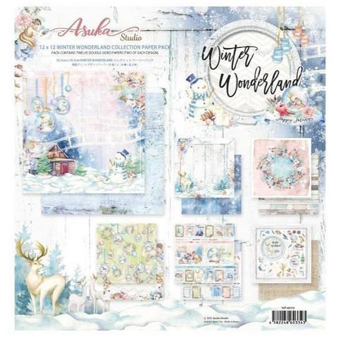 Memory Place paperipakkaus Winter Wonderland , 12