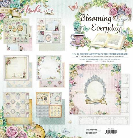 Memory Place paperipakkaus Blooming Everyday , 12
