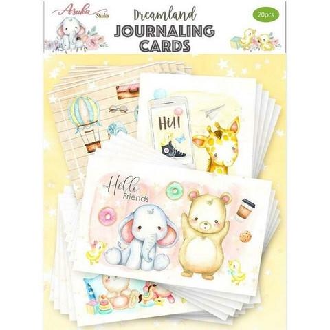 Memory Place Dreamland Journaling Cards -korttikuvat