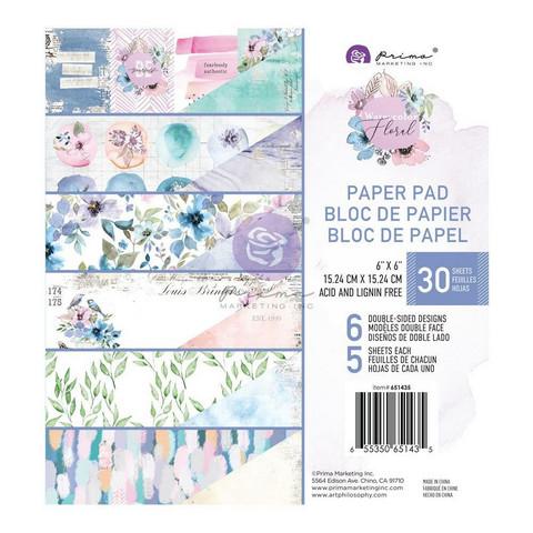 Prima paperikko Watercolor Floral, 6