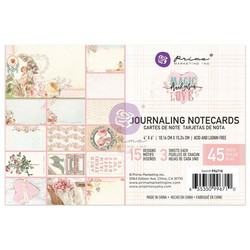 Prima Magic Love Journaling Cards, 4