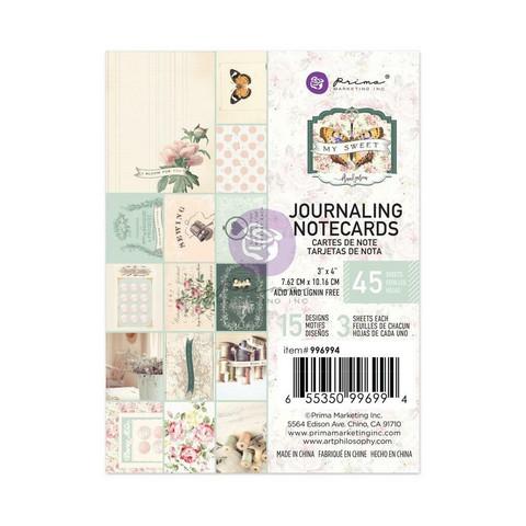 Prima My Sweet Journaling Notecards, 3