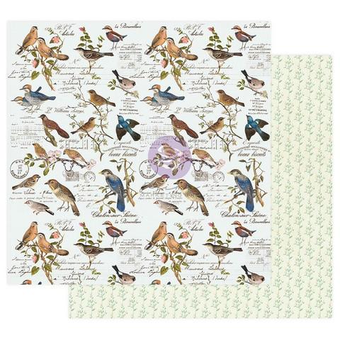 Prima Nature Lover -skräppipaperi Where The Birds Meet