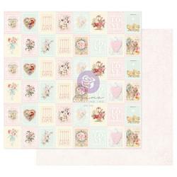 Prima Magic Love -skräppipaperi Love Stamps