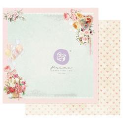 Prima Magic Love -skräppipaperi On A Pink Cloud