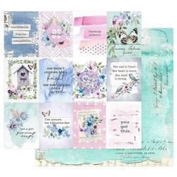 Prima Watercolor Floral -skräppipaperi Dreamy Florals