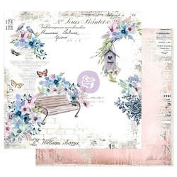Prima Watercolor Floral -skräppipaperi Watercolor Cards