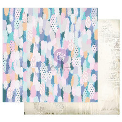 Prima Watercolor Floral -skräppipaperi Artful Brushstrokes
