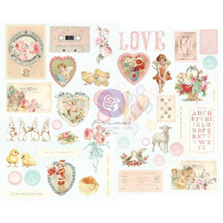 Prima Magic Love - Chipboard tarrat