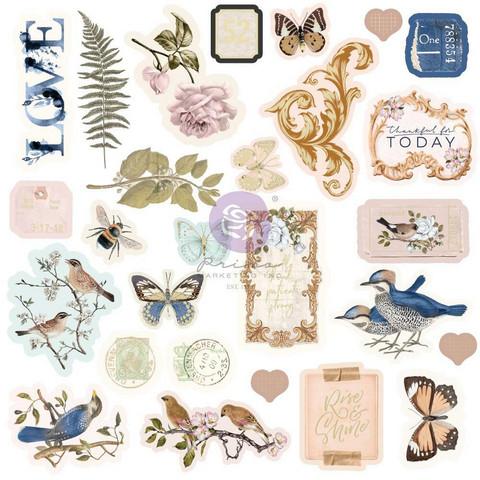 Prima Nature Lover Ephemera die-cuts, leikekuvat