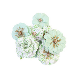 Prima Watercolor Floral paperikukat Minty Water
