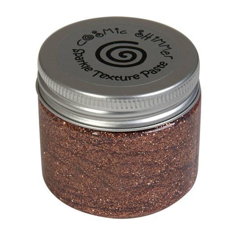 Cosmic Shimmer Sparkle tekstuuripasta, sävy Copper
