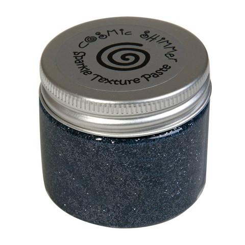 Cosmic Shimmer Sparkle tekstuuripasta, sävy Metallic Gunmetal