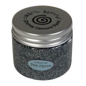 Cosmic Shimmer Sparkle tekstuuripasta, sävy Titanium