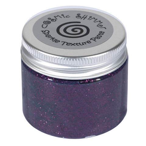 Cosmic Shimmer Sparkle tekstuuripasta, sävy Decadent Wine