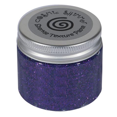 Cosmic Shimmer Sparkle tekstuuripasta, sävy Decadent Grape