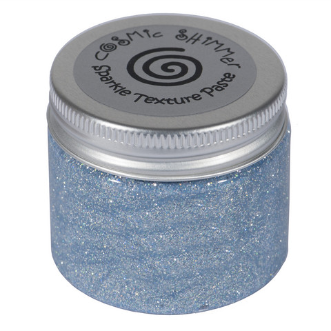 Cosmic Shimmer Sparkle tekstuuripasta, sävy Chic Grey Blue