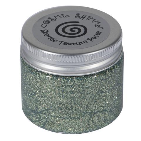 Cosmic Shimmer Sparkle tekstuuripasta, sävy Chic Moss