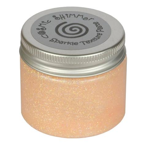 Cosmic Shimmer Sparkle tekstuuripasta, sävy Graceful Peach
