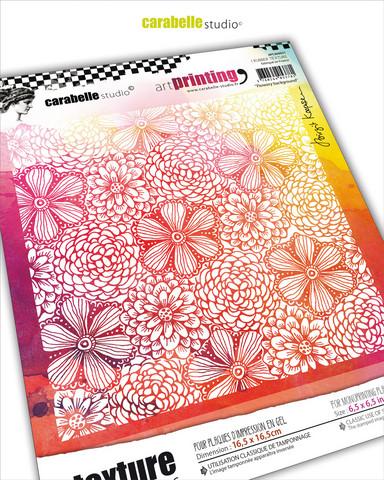 Carabelle Studio tekstuurilevy Flowery Background
