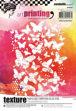 Carabelle Studio tekstuurilevy With Butterflies
