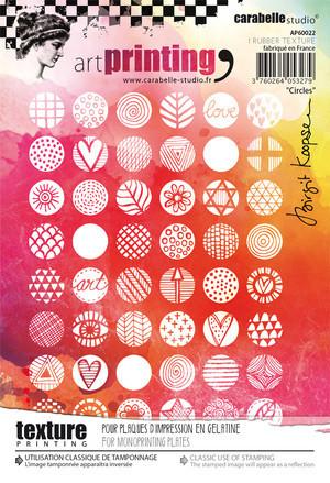 Carabelle Studio tekstuurilevy Circles
