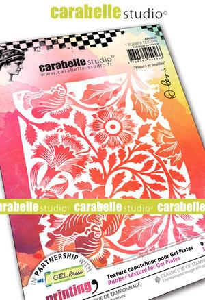 Carabelle Studio tekstuurilevy Flowers and Leaves