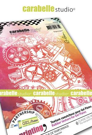 Carabelle Studio tekstuurilevy Engrenages