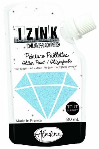 Aladine Izink Diamond -glittermaali, sävy Bleu Ciel