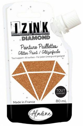 Aladine Izink Diamond -glittermaali, sävy Cuivre