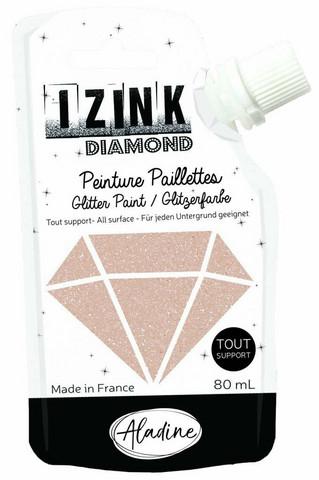 Aladine Izink Diamond -glittermaali, sävy Dore Cuivre