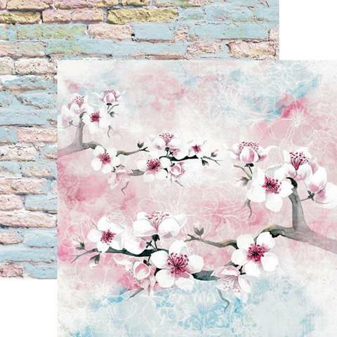 13@rts skräppipaperi Pastel Spring, Spring Blossoms