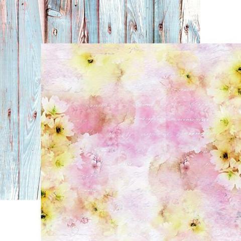 13@rts skräppipaperi Pastel Spring, Pink Sky