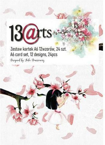13@rts paperipakkaus Pastel Spring, A6