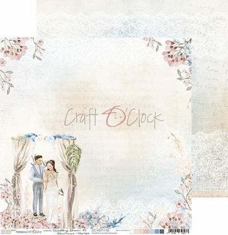 Craft O'clock skräppipaperi Wedding Dream 05