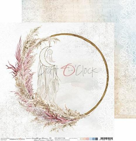 Craft O'clock skräppipaperi Wedding Dream 06