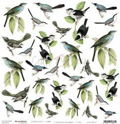 Craft O'clock skräppipaperi Mixed Media Extras To Cut Birds