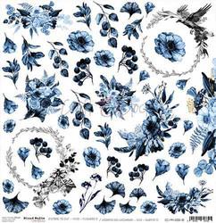 Craft O'clock skräppipaperi Mixed Media Extras To Cut Flowers 5