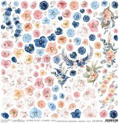 Craft O'clock skräppipaperi Extras To Cut Flowers XXVI