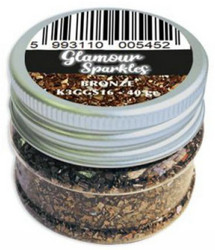 Stamperia Glamour Sparkles -murska, sävy Bronze
