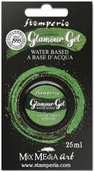 Stamperia Glamour Glitter Gel, sävy Nature Green